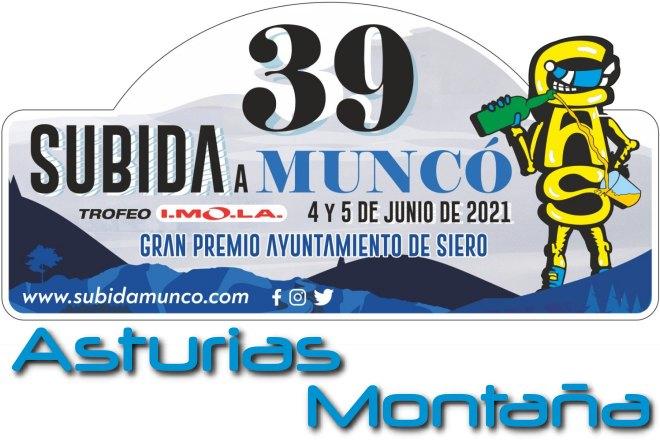 39 Subida a Muncó 2021 placa