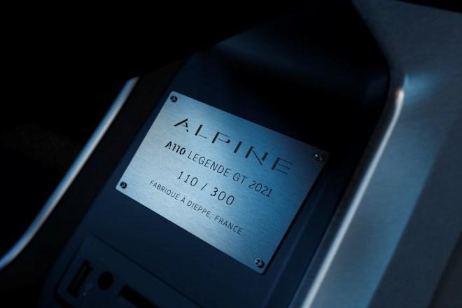 alpine a110 legende gt 2021