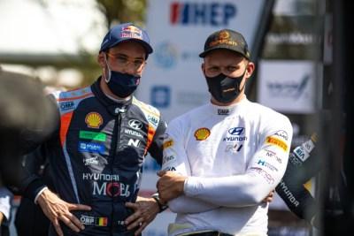 Hyundai Motorsport renueva a Neuville y a Tanak más allá del 2021