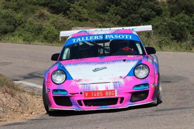 Espasa- Codinachs Rally Barbastro 21 porsche 911