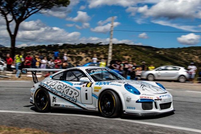 Subida Navas del Rey 21 Janssens Porsche 911 GT3-2