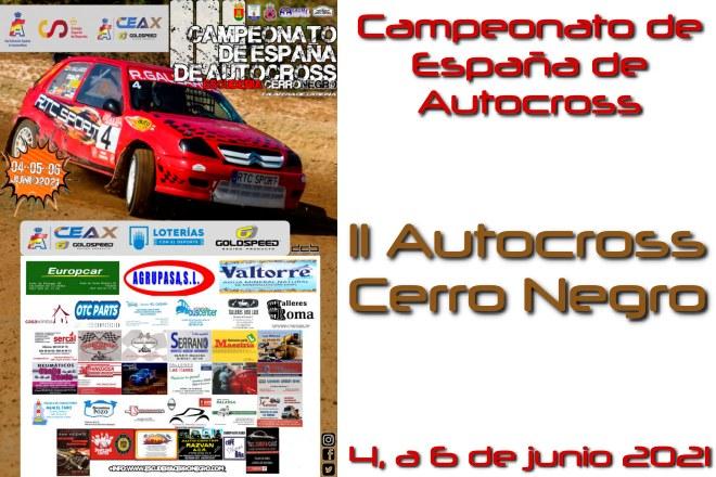 autocross cerro negro 2021 CEAX cartela