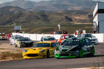 El Almería Circuit acogió una espectacular jornada de automovilismo con el Andaluz de Velocidad