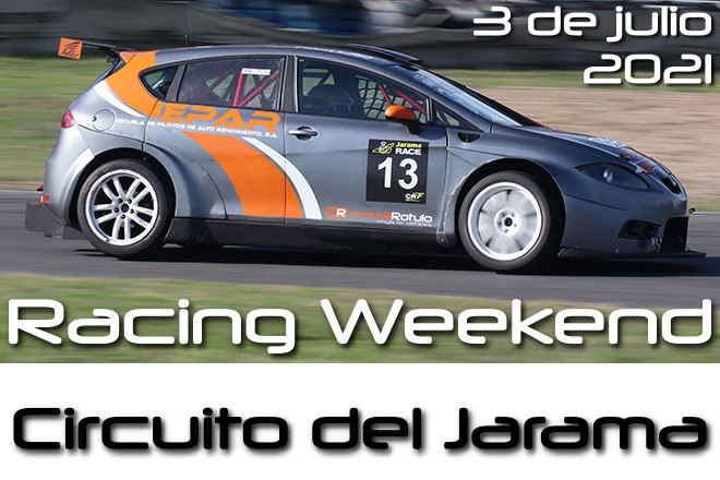 racing weekend jarama 21 cartela