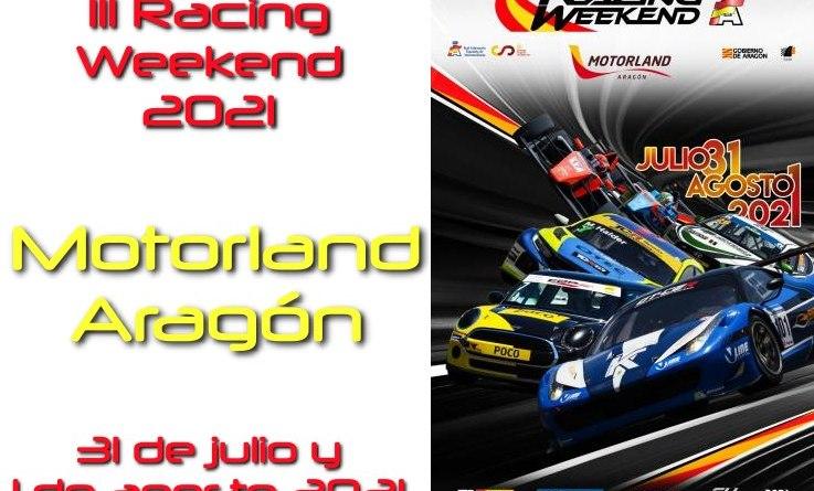 racing weekend aragon 2021 cartela