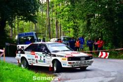 El italiano Zippo se estrena con victoria en el XII Rallye de Asturias Histórico