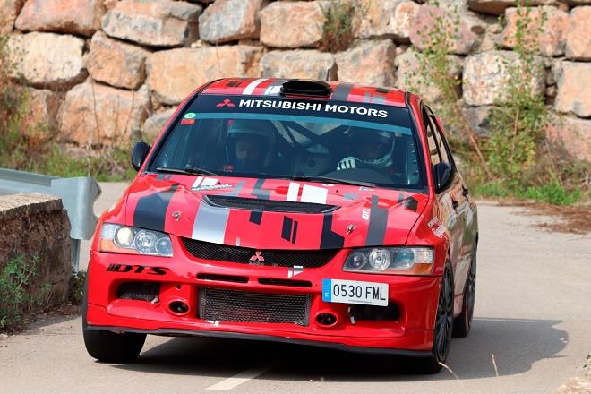 Bonillo Rallysprint Nueno 2021 mitsubishi evo IX