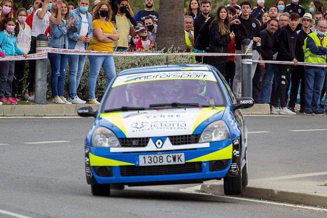 Rallycrono espiel Campos Renault Clio