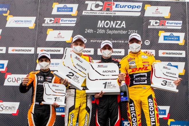 TCR Callejas Monza1 podio