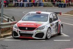 Valverde-Villena se hacen con la victoria en el Rallye-Crono Villa de Espiel