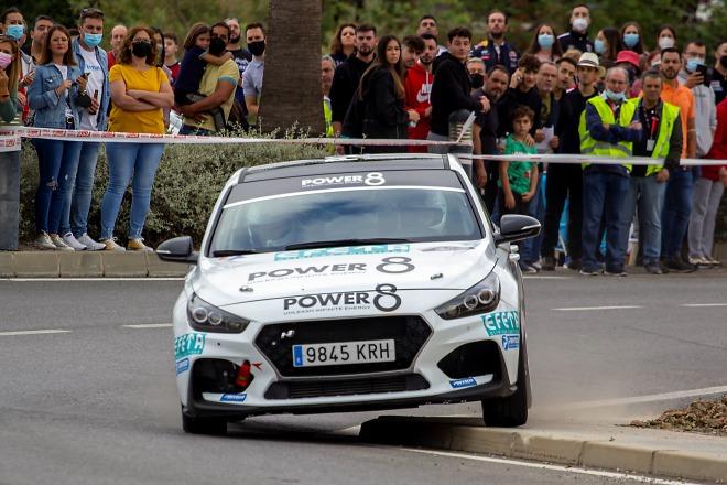 rally crono espiel Martinez hyundai I30N