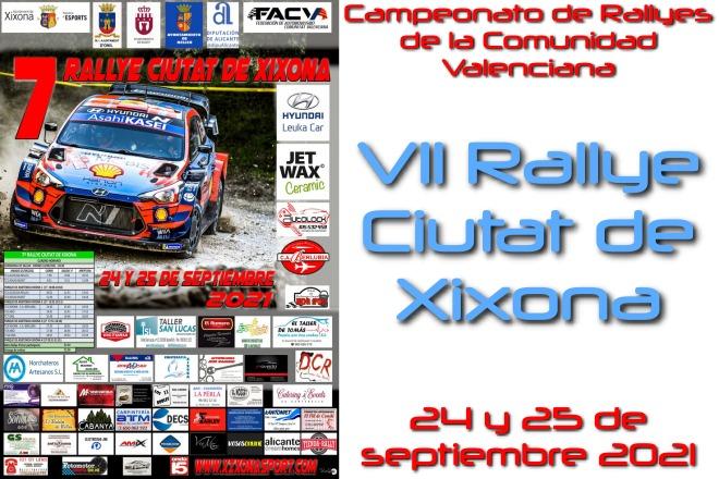 Rallye Cdad Xixona Cartel 2021