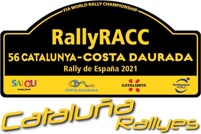 Rallye Cataluña 2021 placa
