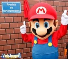 Super Mario encantado con su calle