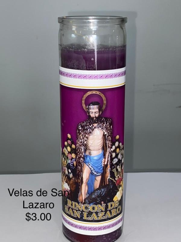 Velas de San Lazaro
