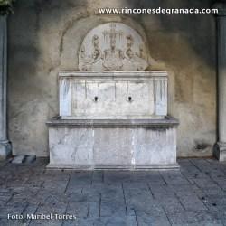 PILAR ADOSADO DEL COMPÁS DE SAN JERÓNIMO  Depositado en el Monasterio de San Jerónimo para evitar su expolio
