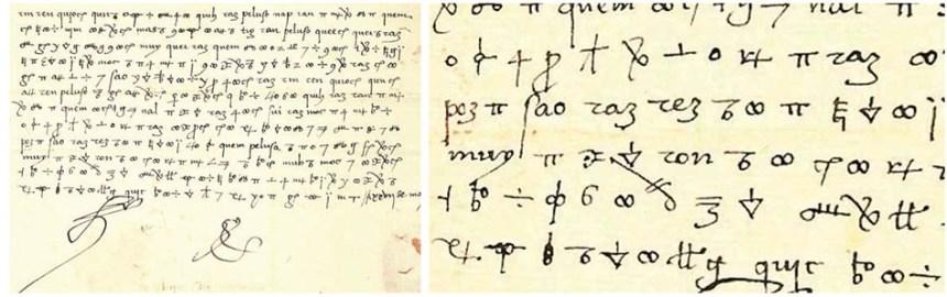 Código secreto del Gran Capitán y Fernando el Católico