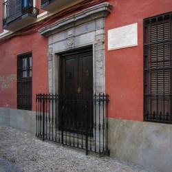 CASA NATAL DE ANTONIO GALLEGO BURÍN Nos trae a la memoria a un hombre enamorado de Granada