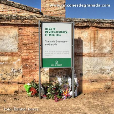 TAPIA DEL CEMENTERIO - LUGAR DE LA MEMORIA DEMOCRÁTICA