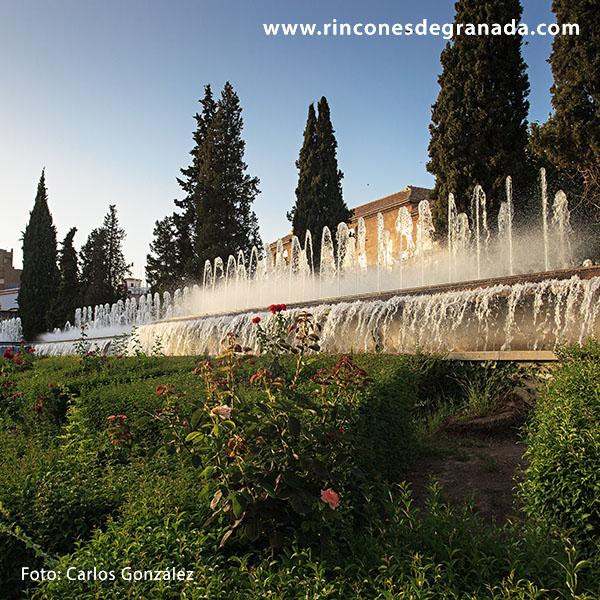 Jardines del triunfo rincones de granada for Triunfo jardin granada