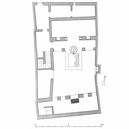 Plano Casa cobertizo de Santa Inés