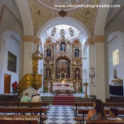 ALTAR MAYOR - IGLESIA DE NUESTRA SEÑORA DE LA EXPECTACIÓN