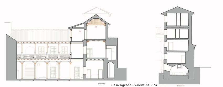 CASA ÁGREDA- Valentina Pica - Casa de la oligarquía castellana de la Granada del siglo XV.