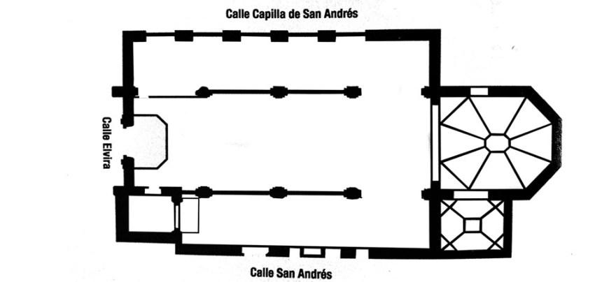 IGLESIA DE SAN ANDRES - CALLE ELVIRA