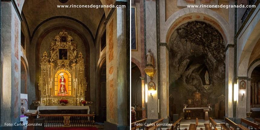 Capillas - Virgen de Lourdes y Señor del Rescate