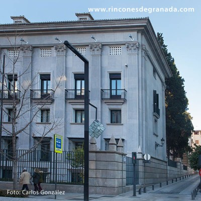 LATERAL - BANCO DE ESPAÑA - GRANADA -