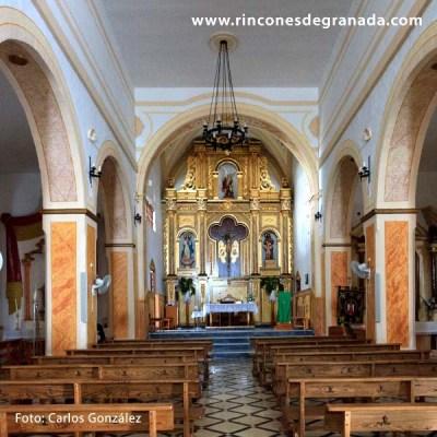ALTAR - IGLESIA DE SAN MIGUEL - GUALCHOS