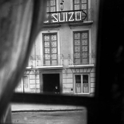 EL SUIZO DE GRANADA - AÑO 1900 - FOTO-JAVIER ALGARRA -