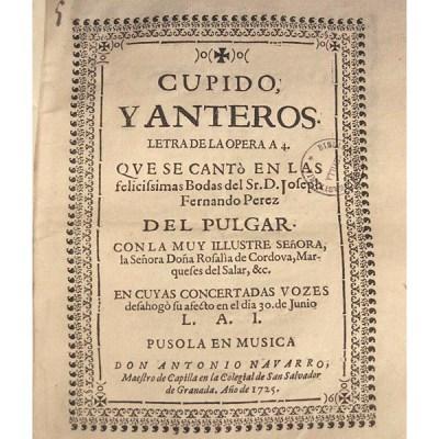 OPERA CUPIDO Y ANTEROS