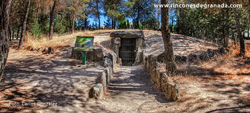 DOLMEN DE LOS BERMEJALES - Sepulcro nº 7- Necrópolis megalítica del Pantano de los Bermejales