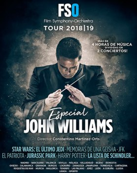 Concierto FSO Tour 2019: Especial John Williams en Granada