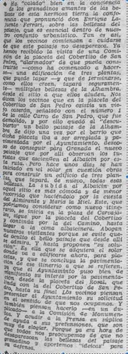 Hoja del Lunes - 7 de mayo de 1962,