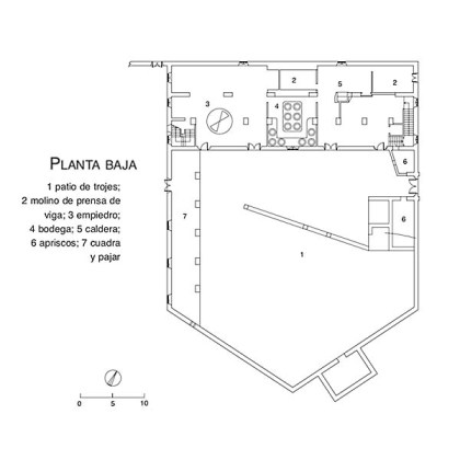 PLANO - ALMAZARA DE BENIZALTE