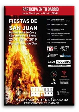 FIESTAS DE SAN JUAN - BOLA DE ORO @ Barrio Bola de Oro (Granada)