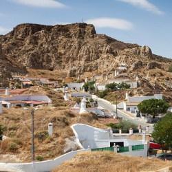 Vistas de Guadix desde el mirador de las Cuevas