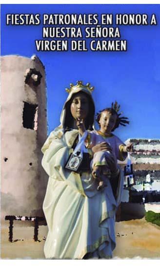 fiestas patronales en honor a Nuestra Señora la Virgen del Carmen
