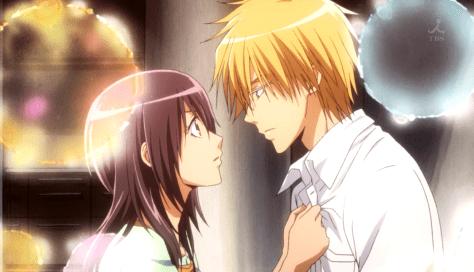 Misaki y Usui
