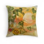 RB throw pillow