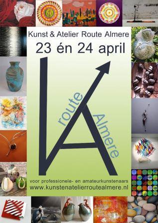 kunstatelierrouteAlmere-2016web Kunst en Atelier Route Almere