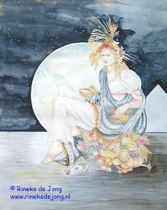koningin Isis  mythologie