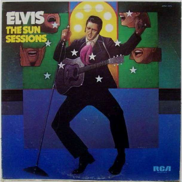 Image result for elvis presley The Sun Sessions