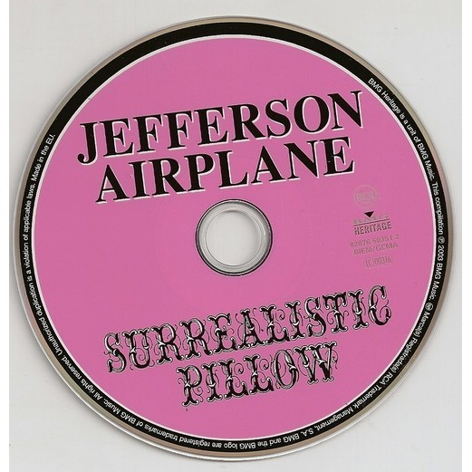 Surrealistic pillow by Jefferson Airplane, CD with kroun2