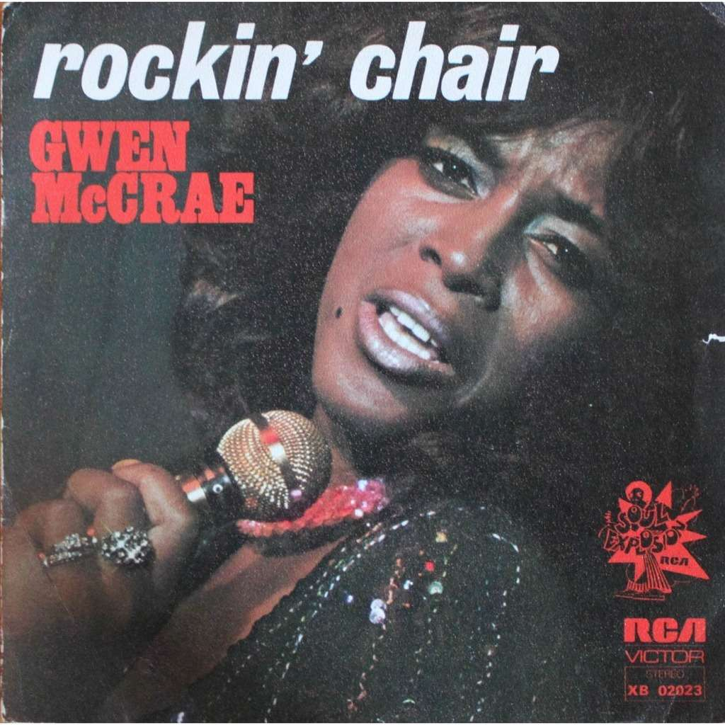 Rockin Chair Mccrae Gwen Rockin Chair 7inch Sp For Sale On Cdandlp