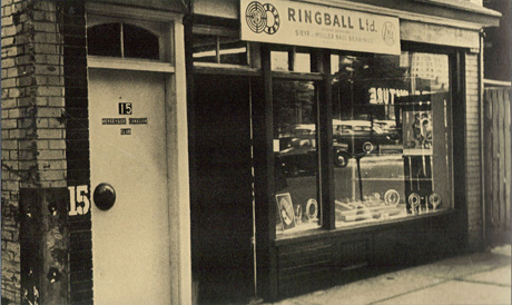 Ringball historic office location