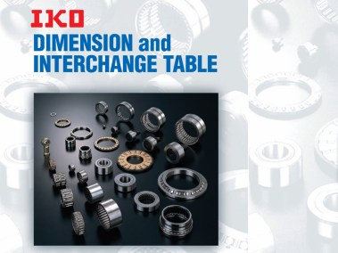 IKO Dimension and Interchange Table