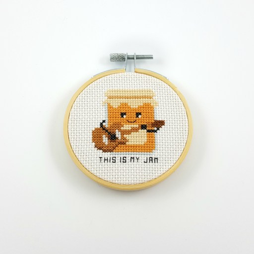 This is my jam cross stitch pdf pattern